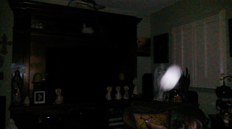 This is a still image of The Light of Mother Mary; as captured on video the evening of July 20, 2019.