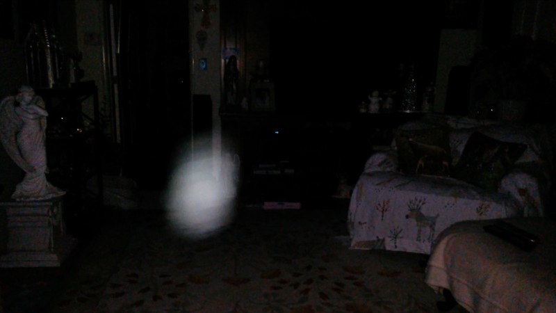 This is the tenth still image, of sixteen images presented, of The Light of Mother Mary; as captured on video the evening of October 5, 2017.