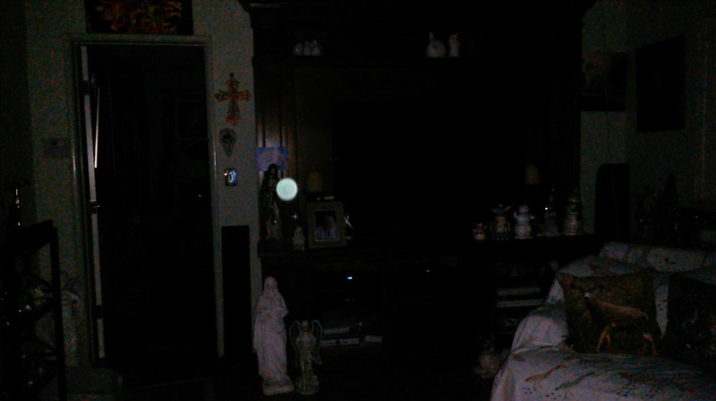 This is the ninth still image, of seventeen images presented, of The Light of Mother Mary; as captured on video the evening of November 28, 2018.
