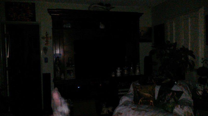 This is the fourth still image, of twenty-six images presented, of The Light of Mother Mary; as captured on video the evening of April 30, 2018.