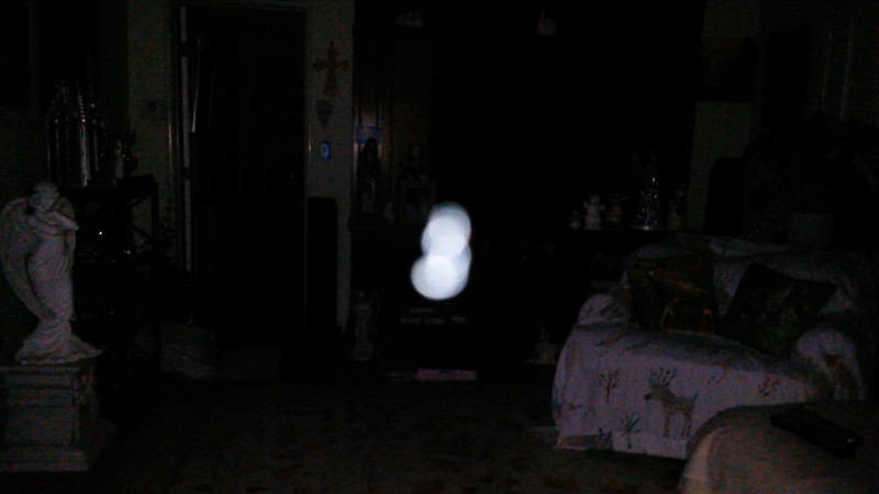 This is the third still image, of sixteen images presented, of The Light of Mother Mary; as captured on video the evening of October 5, 2017.