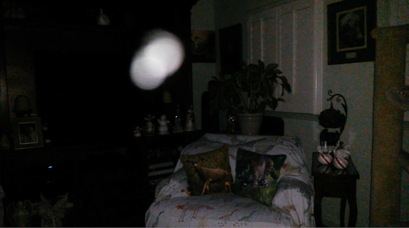 This is the twelfth still image, of eighteen images presented, of The Light of Mary Magdalene; as captured on video the evening of August 29, 2018.