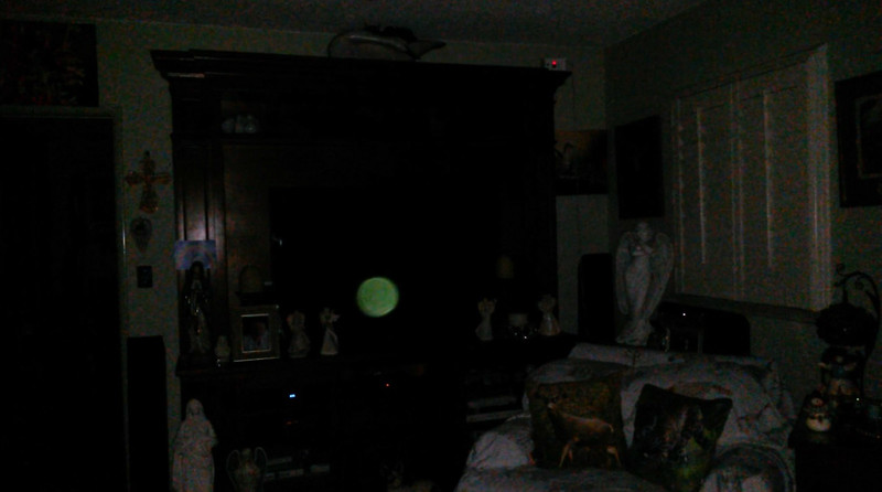 This is a still image of The Light of Jesus; as captured on video the evening of January 3, 2019.