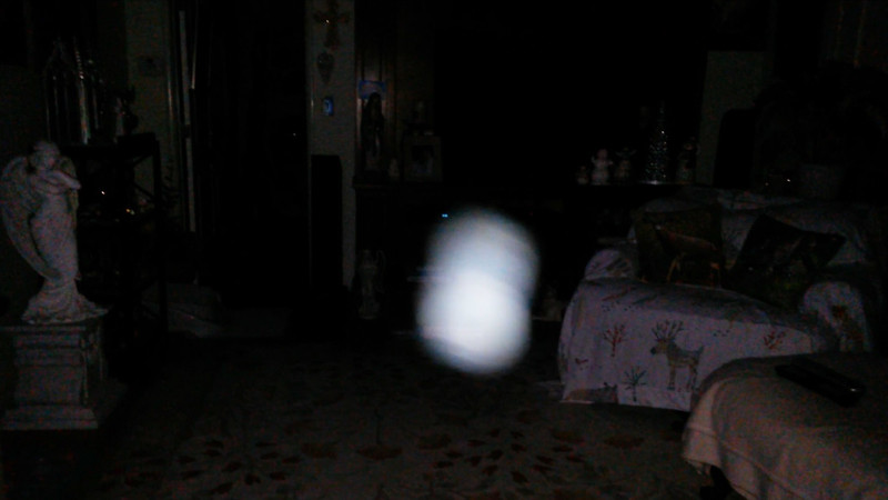 This is the seventh still image, of sixteen images presented, of The Light of Mother Mary; as captured on video the evening of October 5, 2017.