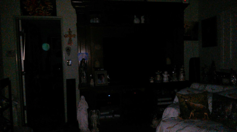 This is a still image of Archangel Jeremiel appearing in the middle of the doorway as The Light of Mother Mary was twinkling in the room; as captured on video the evening of November 28, 2018.