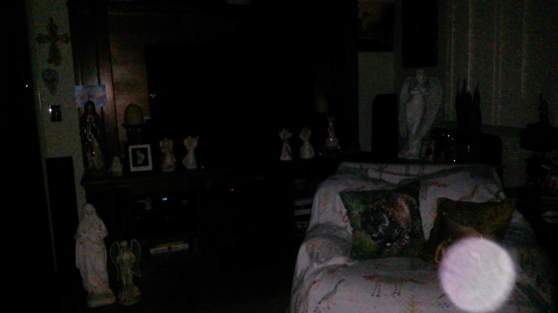 This is a still image of Archangel Raziel; as captured on video the evening of July 2, 2019.