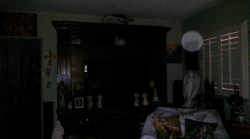 This is a still image of The Light of Mother Mary; as captured on video the morning of the Summer Solstice - June 21, 2019.