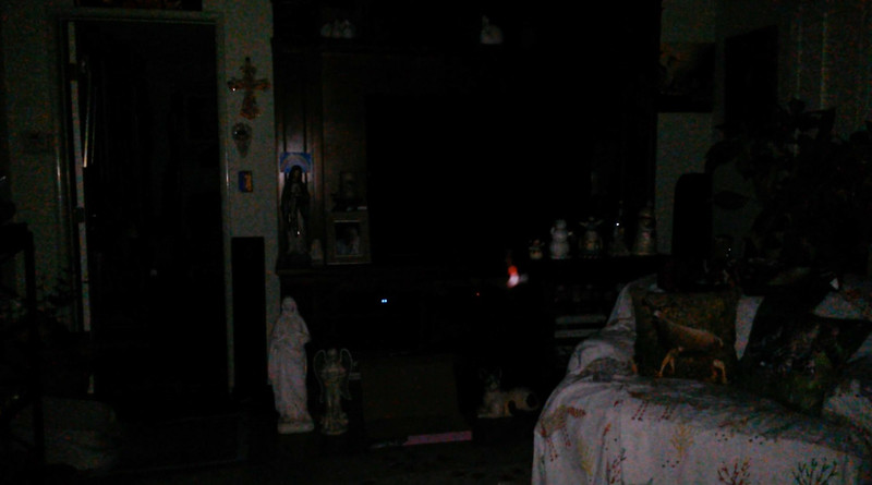 This is the sixth still image, of twenty-six images presented, of The Light of Mother Mary; as captured on video the evening of April 30, 2018.