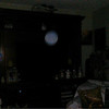 This is a still image of The Light of my cousin, Mark; as captured on video the evening of August 29, 2018.