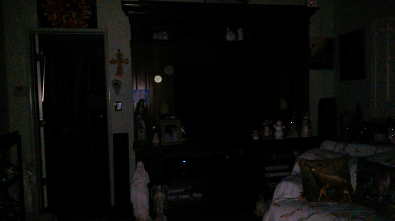 This is the fourth still image, of seventeen images presented, of The Light of Mother Mary; as captured on video the evening of November 28, 2018.