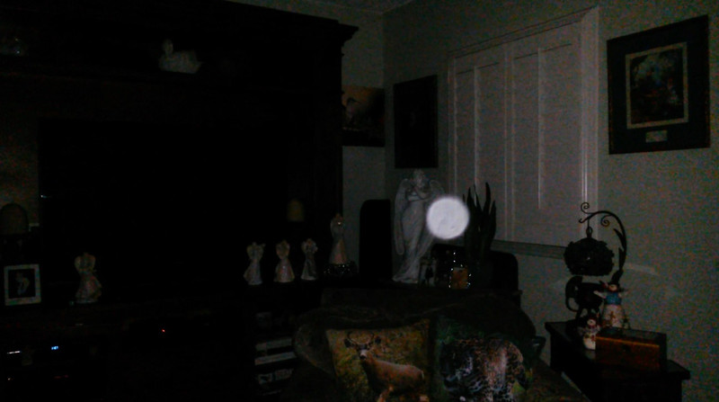 This is a still image of The Light of Mary Magdalene; as captured on video the evening of July 20, 2019.