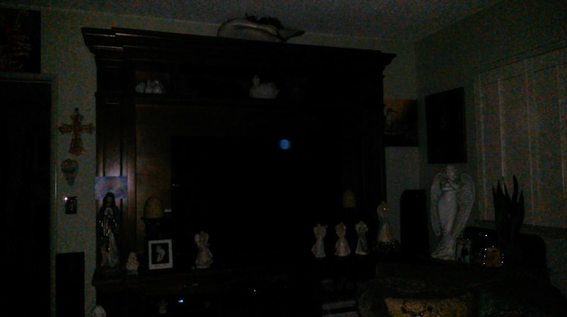 This is a still image of The Light of Jesus; as captured on video the evening of July 20, 2019.