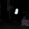 This is the fourth still image, of sixteen images presented, of The Light of Mother Mary; as captured on video the evening of October 5, 2017.