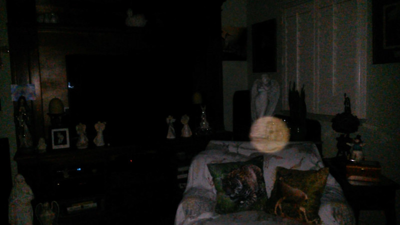 This is a still image of Archangel Gabriel; as captured on video the evening of July 2, 2019.