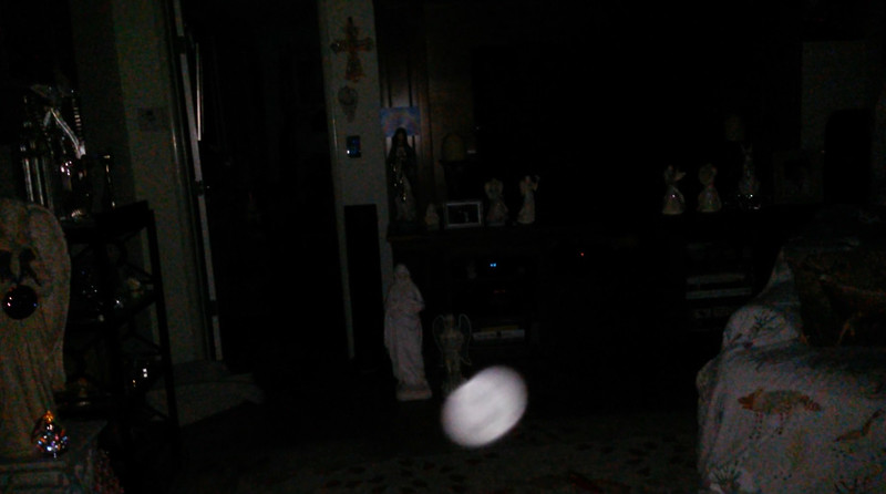 This is a still image of The Light of Mother Mary; as captured on video the evening of April 25, 2019.