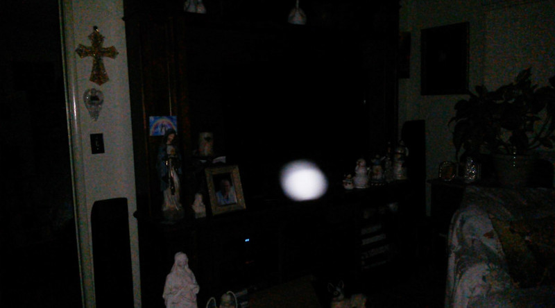 This is the fourth still image, of seven images presented, of The Light of Mother Mary; as captured on video the evening of July 3, 2018.