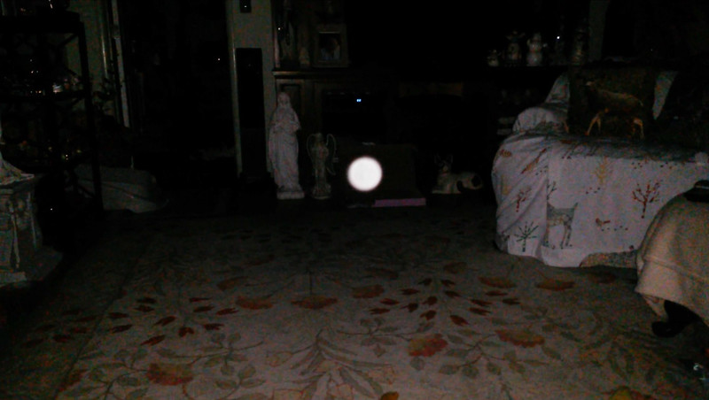 This is the fourth still image, of eleven images presented, of The Light of Jesus; as captured on video the evening of May 10, 2018.