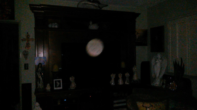 This is a still image of Archangel Gabriel; as captured on video the evening of July 20, 2019.