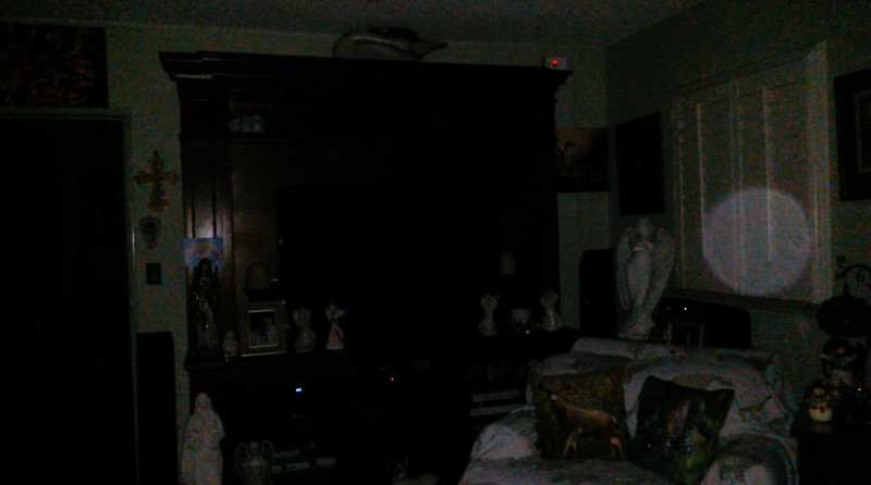 This is a still image of Archangel Zadkiel; as captured on video the evening of January 3, 2019.