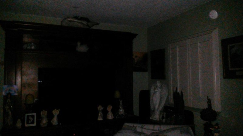 This is a still image of Archangel Zadkiel; as captured on video the evening of July 2, 2019.