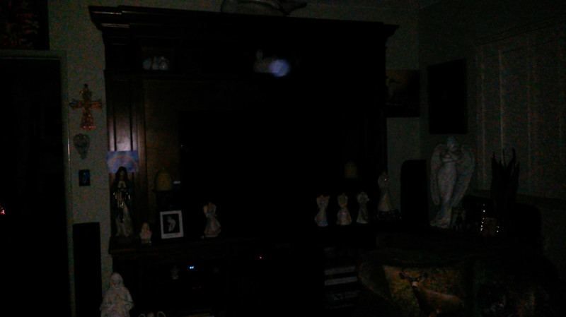 This is a still image of The Light of Mother Mary; as captured on video the evening of July 30, 2019.