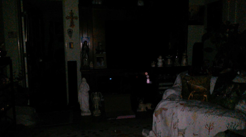 This is the seventh still image, of twenty-six images presented, of The Light of Mother Mary; as captured on video the evening of April 30, 2018.