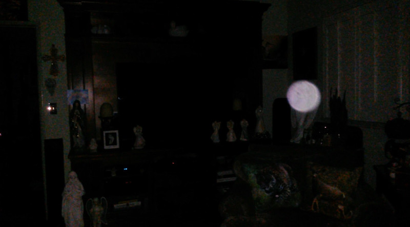 This is a still image of Archangel Ariel; as captured on video the evening of August 9, 2019.