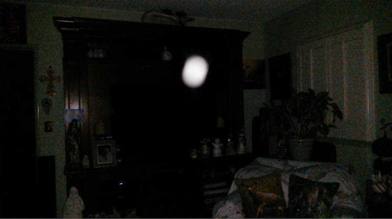 This is the tenth and final still image of The Light of Mother Mary; as captured on video the evening of August 29, 2018.