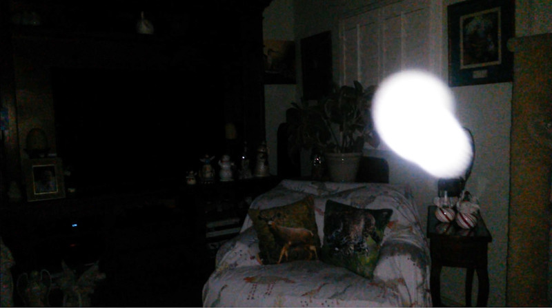 This is the eleventh still image, of eighteen images presented, of The Light of Mary Magdalene; as captured on video the evening of August 29, 2018.