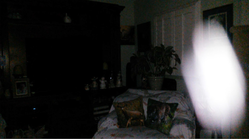 This is the fifteenth still image, of eighteen images presented, of The Light of Mary Magdalene; as captured on video the evening of August 29, 2018.
