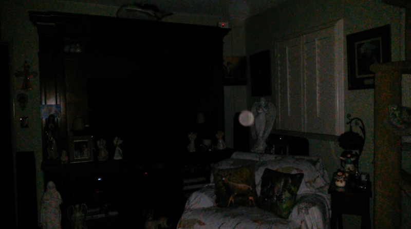 This is the third still image, of seven images presented, of The Light of Mother Mary; as captured on video the evening of January 3, 2019.