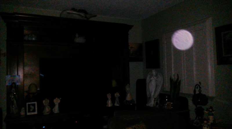 This is a still image of The Light of Mother Mary; as captured on video in the early morning of September 8, 2019.