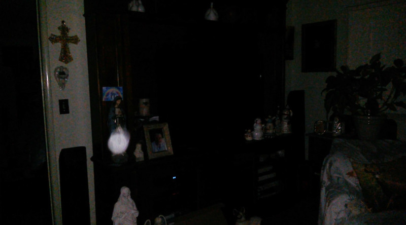 This is the second still image, of seven images presented, of The Light of Mother Mary; as captured on video the evening of July 3, 2018.