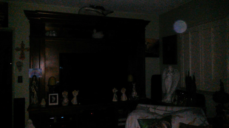 This is a still image of The Light of Mary Magdalene; as captured on video the evening of July 2, 2019.