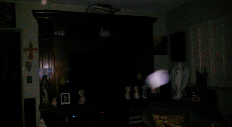 This is a still image of The Light of Jesus; as captured on video the evening of July 30, 2019.
