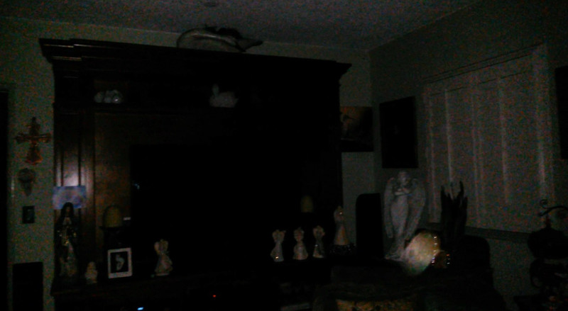 This is a still image of Archangel Zadkiel; as captured on video the evening of July 30, 2019.