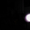 This is a still image of The Light of Mother Mary; as captured on video the evening of August 9, 2019.  This image has been underexposed to show the pink coloration of Her Light in the dark.