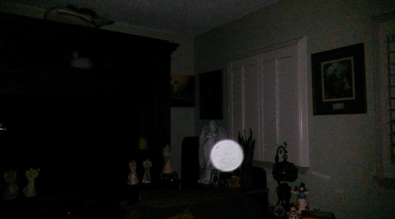 This is a still image of The Light of Jesus; as captured on video in the early morning of September 8, 2019.