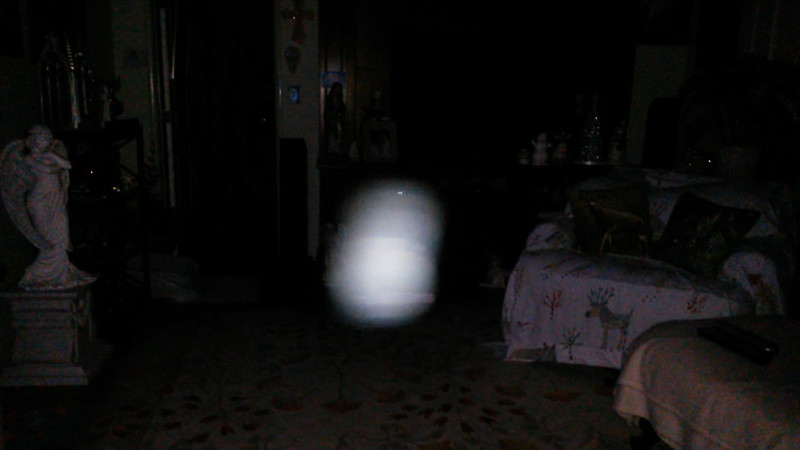 This is the eighth still image, of sixteen images presented, of The Light of Mother Mary; as captured on video the evening of October 5, 2017.