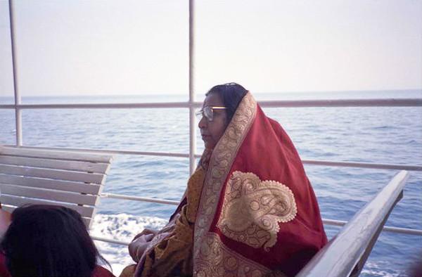 Capri boat trip 1989