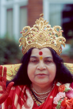 Mother Earth Puja, Havan for America, Surbiton ashram London, 21 August 1983