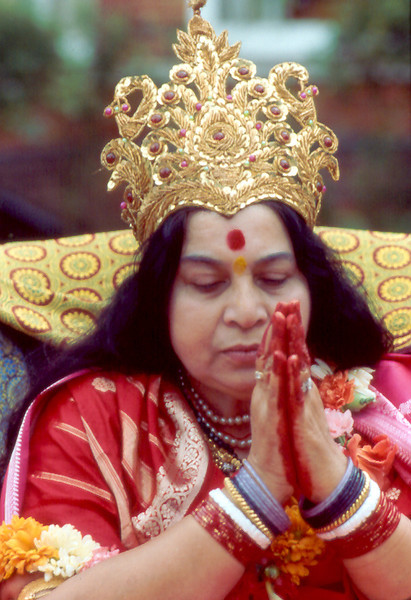 Mother Earth Puja, Havan for America, Surbiton ashram London, 21 August 1983