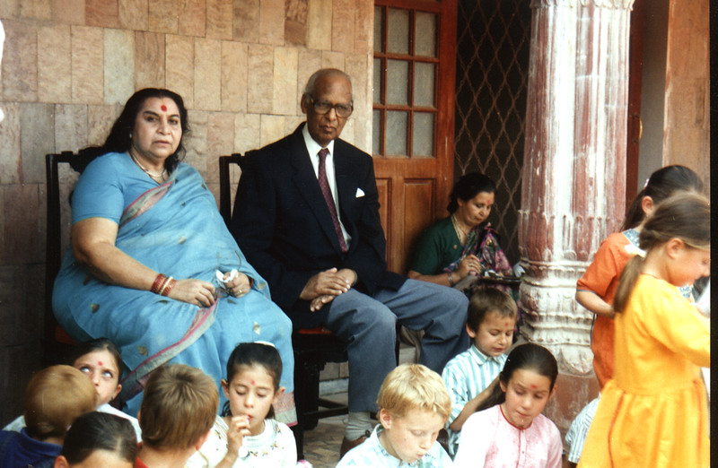 International Sahaja Public School student at Pratishthan India, 1990