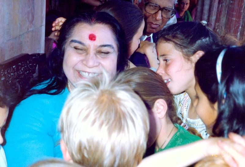 International Sahaja Public School student at Pratishthan India, 1990