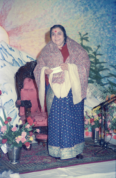 Sahasrara Puja evening talk, 3 May 1987, Thredbo Australia (Matthew Fogarty photo)