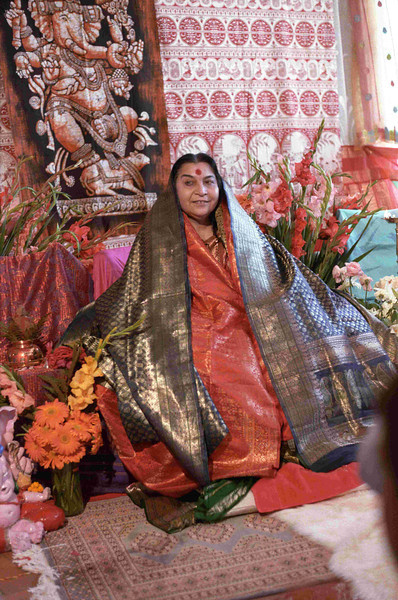 Shri Ganesha Puja, 2 September 1984, Riffelberg Switzerland (Herbert Reininger photo) (160 MB tiff image available upon request)