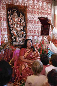 Shri Ganesha Puja, 2 September 1984, Riffelberg Switzerland (Herbert Reininger photo)