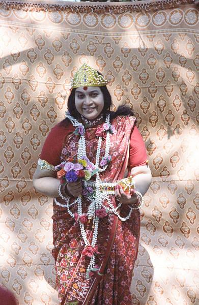 Shri Kalki Puja, 26 January 1981, Bordi India (16.4 MB tiff photo available upon request)