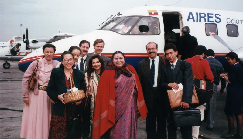 Bogota Colombia, October 1992