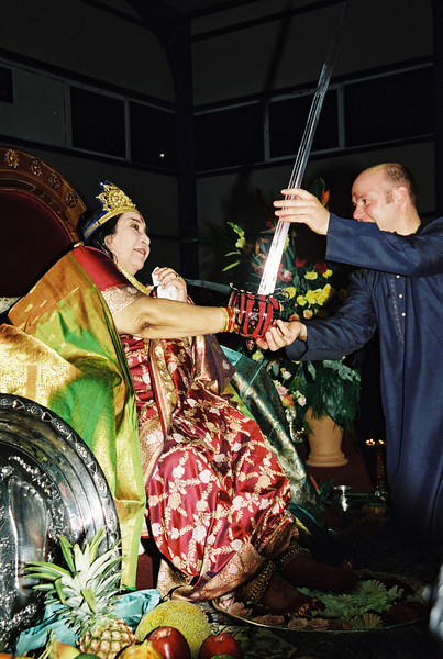 Navaratri Puja, 21 October 2001, Delphi Greece
